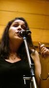 Cantante cubana en Madrid. Amanda Gaviria, Rocía Gordillo, Lucía Gavilanes