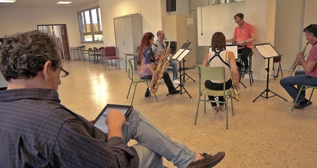 Juan José Solana y el Sax Ensemble