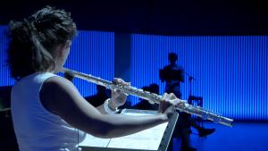 EPOS Lab, Centro conde Duque, flauta, flute player, Madrid