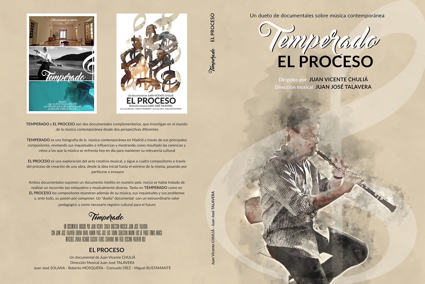 Dueto de documentales en DVD