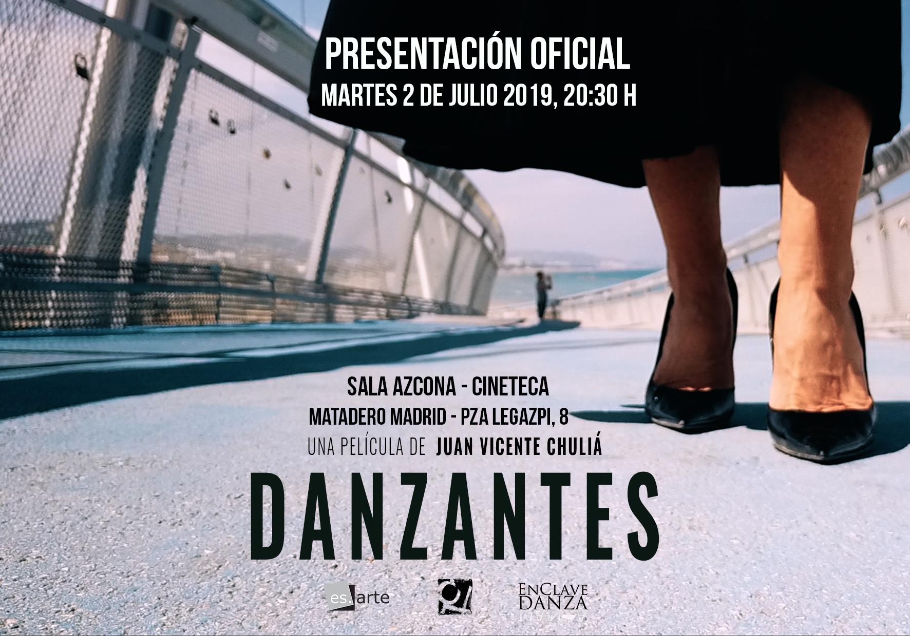 Danzantes: Presentación el 2 de Julio en Cineteca
